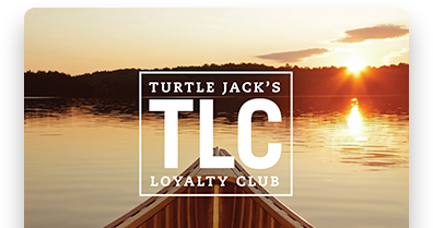 Turtle Jack's TLC Loyalty Club Card