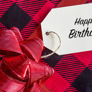 """Happy Birthday"" EGift Card"