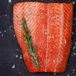 Seasoned Atlantic Salmon Fillet