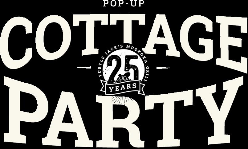 Pop-Up Cottage Party logo