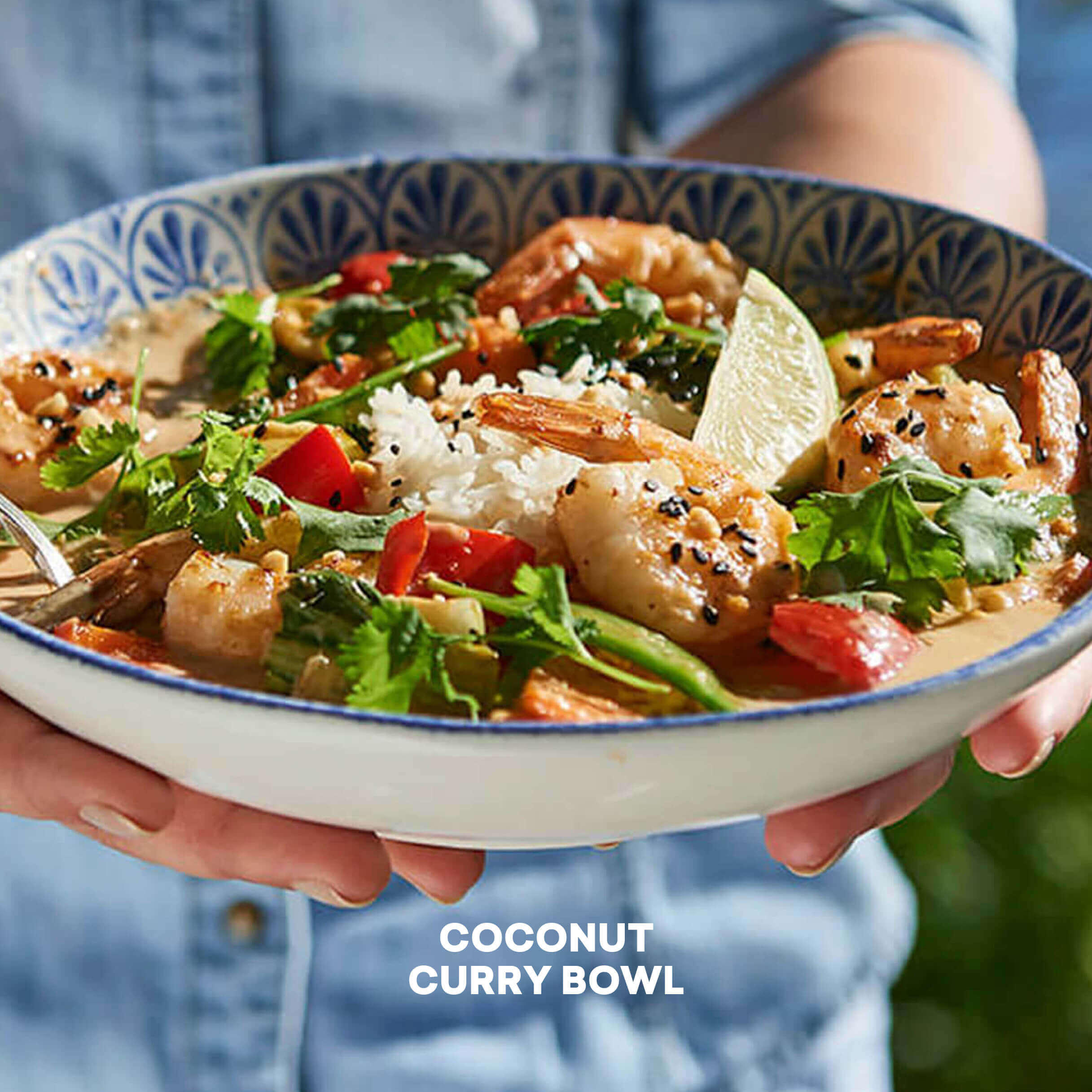 gluten-free curry bowl