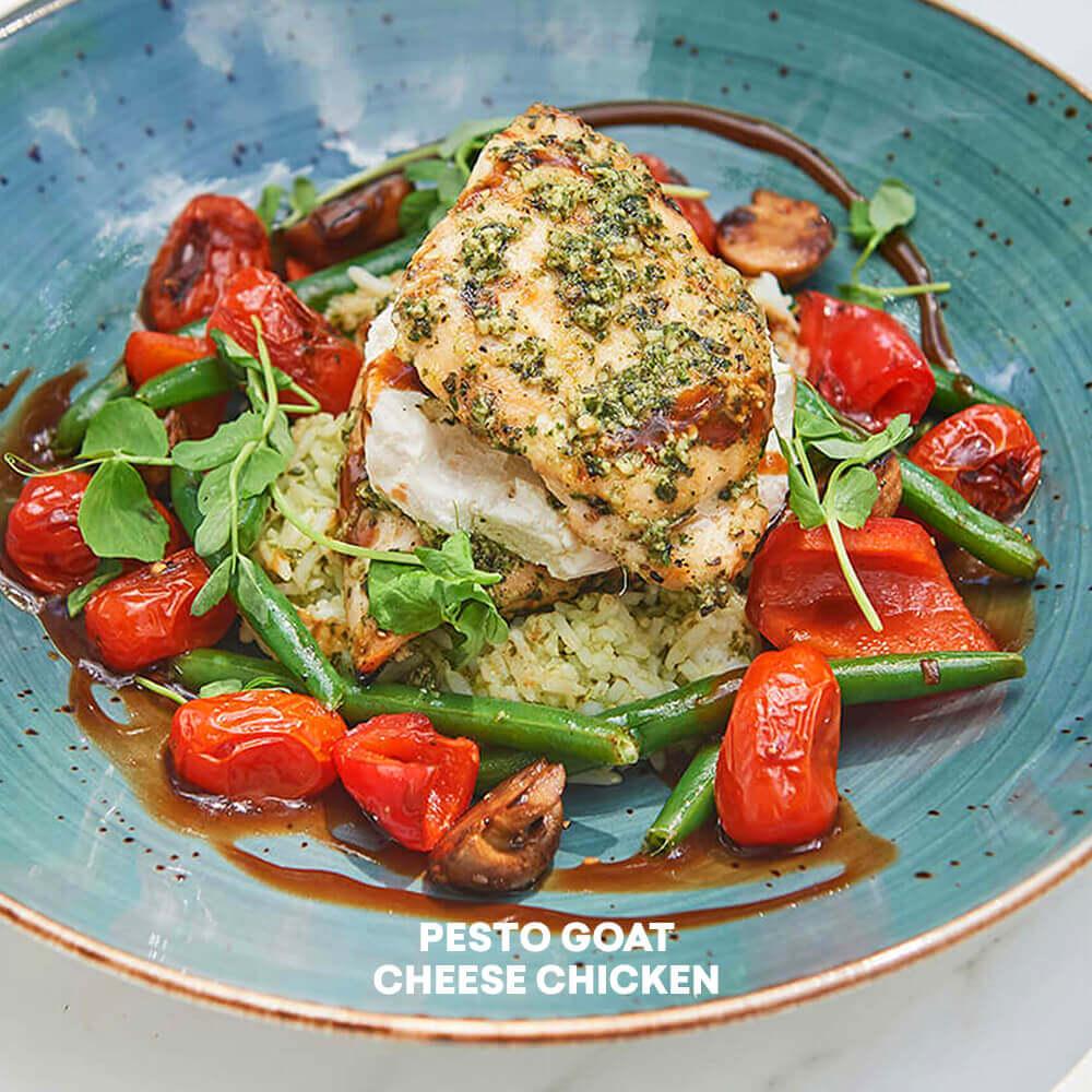 gluten-free pesto chicken