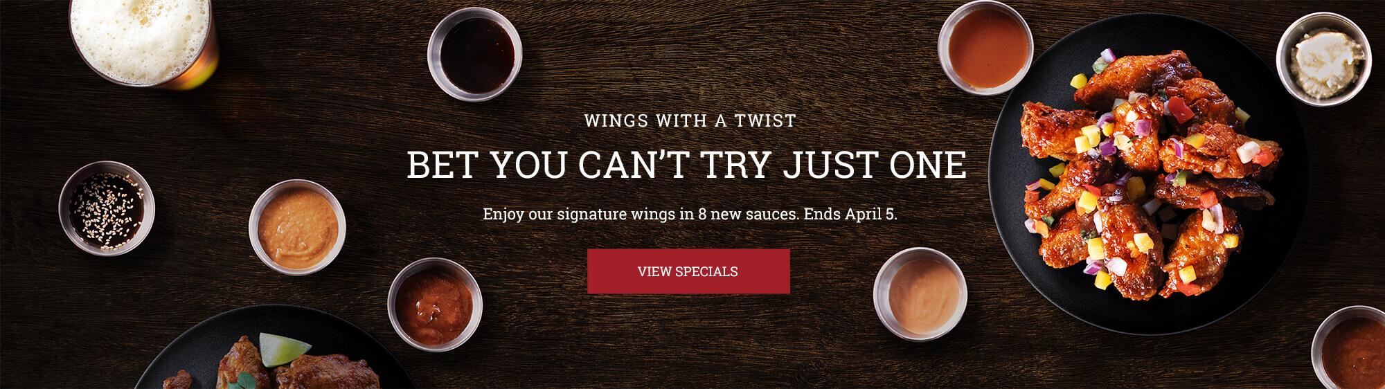 TurtleJacks Wings Banner