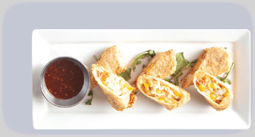plate-breaded-garlic-chicken-rolls